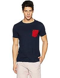 Symbol Men's Color Block Roundneck T-Shirt