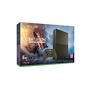 Xbox One S 1 TB Konsole – Battlefield 1 Special Edition Bundle