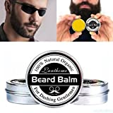 Best Moustache Waxes - SLB Works Brand New 30g Beard Balm Natural Review