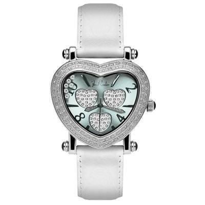 Joe Rodeo Women's JH2 Moving Heart 0.75ct Diamond watch