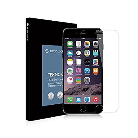 Film vitre de protection écran verre trempé iPhone 6 Plus 6s Plus super résistant [9H +, incassable, inrayable] verre trempé haute transparence, ultra fin [0.33 mm] bords arrondis iPhone 6Plus 6sPlus