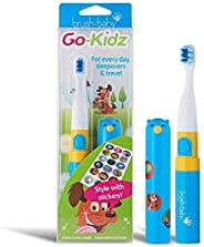 Brush-baby New Go-Kidz Electric Toothbrush Boxed - Colour Blue