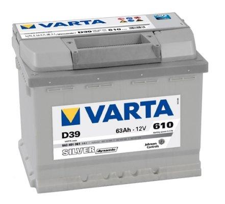 Batterie Voiture Diesel - Varta Silver Dynamic D39 Batterie