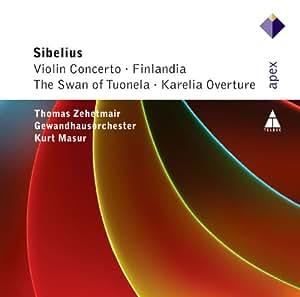 Sibelius: Violin Concertos D min op 47 / Finlandia / Der Schwan von