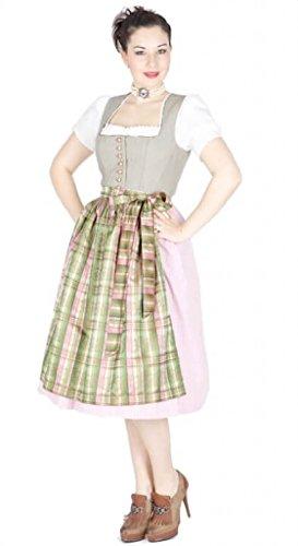 10568 Tramontana 70er Dirndl natur rosa