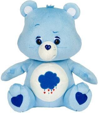 Care Bear 11 inch Plush Grumpy Bear (Blue) by Care Bears (Blue Bear Care)