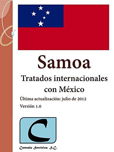 Samoa - Tratados Internacionales con México por Cateralu Servicios SC