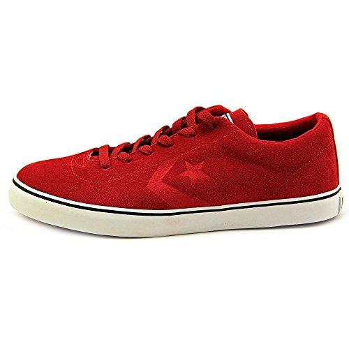 Converse  Elm Ls Ox, Baskets pour femme Rouge