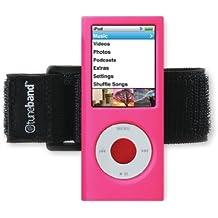 TuneBand para iPod Nano 4th generación (Model a1285, 8GB/16GB, sin cámara trasera), tecnología Grantwood brazalete de, de silicona, y protector de pantalla