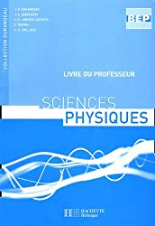 Sciences physiques BEP : Livre du professeur