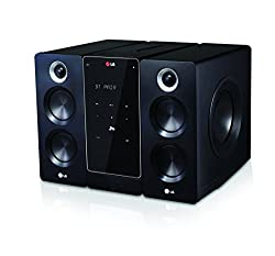 LG FA168 Micro Kompaktanlage (160 Watt, CD, Radio, USB, Bluetooth, MP3, WMA) schwarz