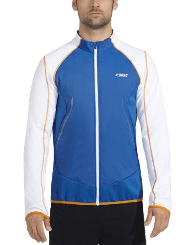 Rono - Maglietta da corsa a maniche lunghe Uomo - New Royal/White (3200)