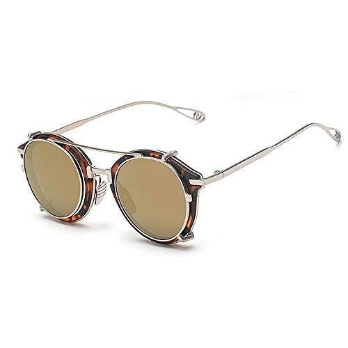 Ppy778 Polarisierte Sonnenbrillen der Männer Heiße Mode-Gläser für das Fahren im Freien Fischen Golf , Metallrahmen (Color : Black)
