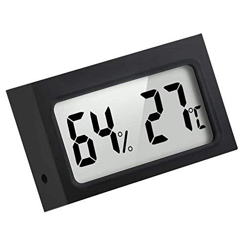 Unknown Toogoo(R) Mini Indoor Digital Temperature Humidity Monitor Thermometer Hygrometer, Black