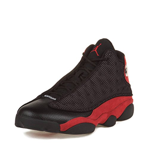 "419WSNrZ7aL. SS500  - s Air Jordan Retro 13 ""Bred"" Suede Basketball Shoes"