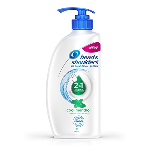 Head & Shoulders 2-in-1 Shampoo + Conditioner, Cool Menthol, 675ml