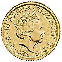 Goldmünze England 2018 - Britannia - 1/10 Unze - unzirkuliert