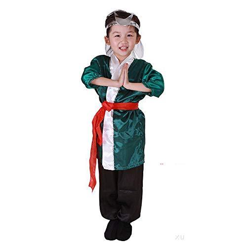 Halloween Kinderbekleidung Cosplay-Maskerade Performance-Kostüme Ankleiden Männer und Frauen für Kinder Sun Wukong-Anzug
