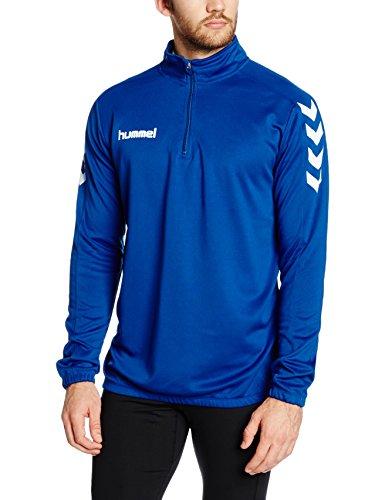 Hummel Herren Sweatshirt Core 1/2 Zip, True Blue, L, 36-895-7045