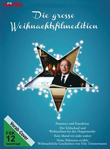 Die große Weihnachtsfilmedition Box 2: Pommery und Putenbrust / Der Schluckauf / Kein Abend wie jeder andere / ... Geschichten