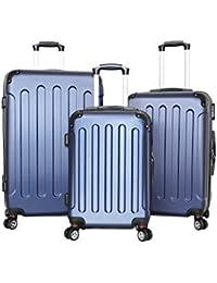 pellicano - Juego de maletas  Azul azul