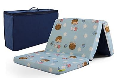 Colchón de espuma de viaje para bebé 60x120 cm