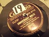 Victor Silvester - Elmer's Tune/ Anniversary Waltz 78RPM Record