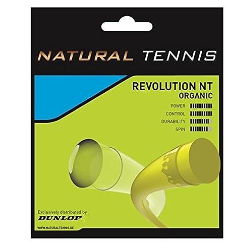Dunlop Revolution NT Organic Hybrid String Set - Black, 1.35 mm