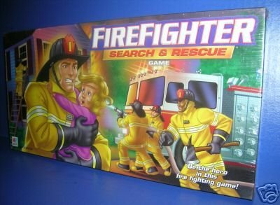 Firefighter Search and Rescue Board Game by Milton Bradley/Hasbro