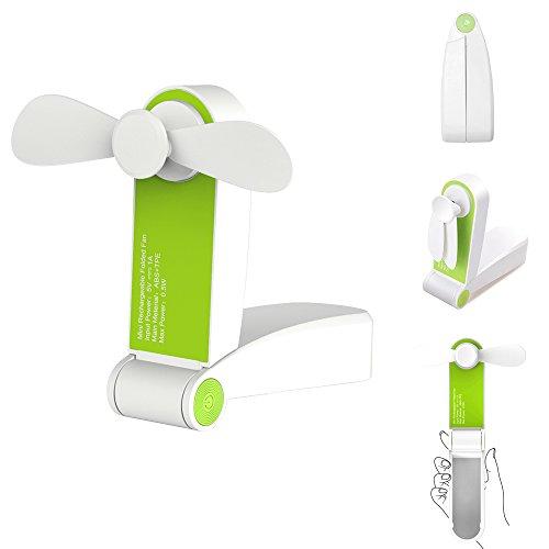 Tuokay Ventilador Portátil Mini Fan Plegable Ventilador Recargable con...