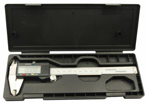 Digitale Messschieber / LCD Schieblehre bis 150 mm / 6 Zoll (INCH und METRISCH)