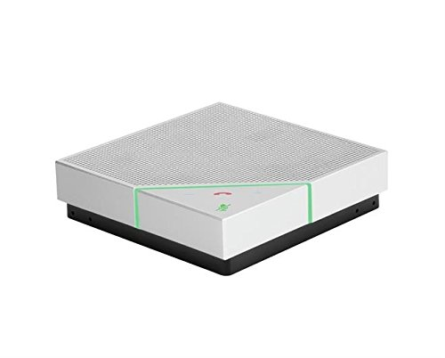 Polycom VoxBox Altavoz Universal Black, Blanco USB/Bluetooth - Altavoces  (Universal, Black, Blanco, 1,2 m, IP64, 83 dB, 200-14000 Hz)