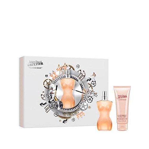Jean Paul Gaultier Classique Geschenkset Edt Spray und Bodylotion, 125 ml -