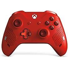 Microsoft - Mando Inalámbrico Deportivo, Color Rojo [Edición Especial] (Xbox One)