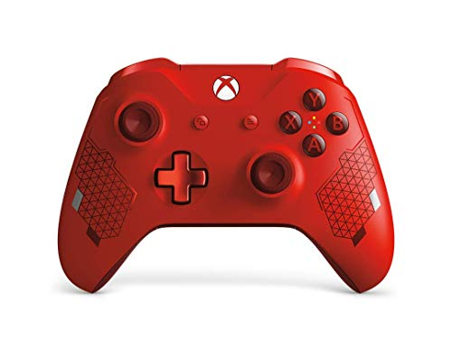 Microsoft  Xbox Wireless Controller, Sport Rot (Special Edition) (Xbox Controller Bluetooth One)