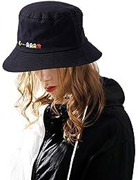 DORRISO Sombreros Visera Pescador Protección UV Turismo Playa Vacaciones  Mujer Visera Sombrero Algodón 764265b5c25