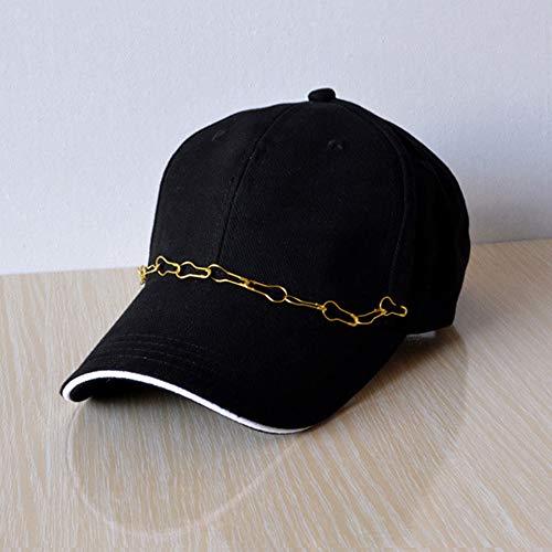 ERKEJI Cap Baseball Cap Unisex schwarz Zeichnung Baumwolle Sport Frühling/Sommer Outdoor Sunscree