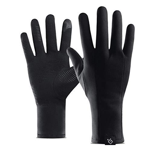 Handschuhe für Motorräder wasserdichte Anti-Rutsch-Thermo for Motorrad Bike Ski Touchscreen Winter Warme Handschuhe Winddicht- M (Größe : L) -