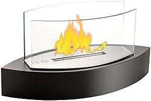 Edle und stimmungsvolle Dekoration für Ihren WohnzimmertischMit dem kleinen Tischkamin holen Sie sich jetzt  stimmungsvolle Atmosphäre  auch in kleinere Wohnungen. Der Kamin ist so klein, dass er bequem auf Ihren  Wohnzimmer- oder Esstisch  passt.Tol...