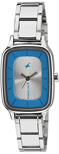 Fastrack Analog Silver Dial Women's Watch – 6121SM01 image - Kerala Online Shopping