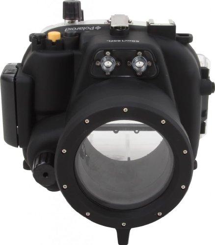 Polaroid wasserdichtes Spiegelreflexkamera-, Tauch- und Unterwassergehäuse für die Canon T3I mit einem 18 - 55 mm Objektiv