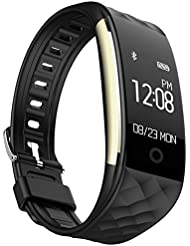 EFOSHM Fitness Tracker HR ,IP67 Water Resistant Wearable Activity Tracker Sports Bracelet Calorie Cycling Call/SMS Whatsapp Facebook Reminder Vibration for iPhoneX 8 Plus Samsung S8+ Android or iOS