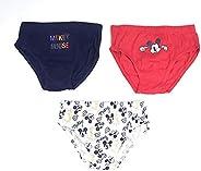 Calzoncillos Mickey Mouse Tipo Slips de Algodón - Slips Mickey Mouse para Niños (2 - 3 años)