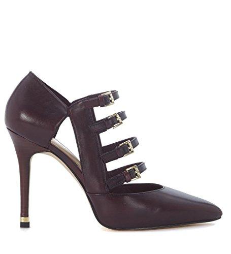 Nuova collezione Calzature Donna MICHAEL KORS marta pump tronchetto, tacco alto, tinta unita, chiusura con 4 cinturini regolabili, suola in gomma Violet