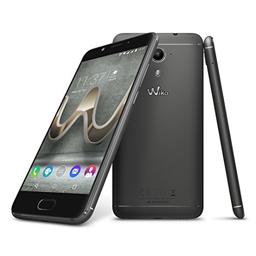 Wiko 9690 U Feel Prime Smartphone (12,7 cm (5 Zoll) Full HD IPS-Display, Fingerabdruck-Sensor, 32GB interner Speicher, Android 6.0 Marshmallow) anthrazit - 4
