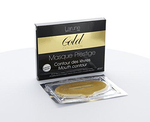 Maske or Prestige Lipliner im collagène-collection gold-boîte 5Grobstaubmasken