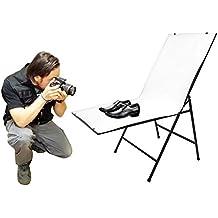 BeMatik - Mesa de estudio fotográfico para bodegones de 100 x 60 cm plegable fotografía plexiglas