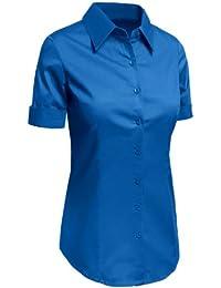 20764a64 Amazon.co.uk: Denim - Blouses & Shirts / Tops, T-Shirts & Blouses ...
