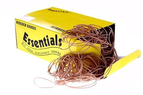 Whitecroft Essentials No 32 x 80 mm 3 bandes élastiques en caoutchouc naturel de 454 g
