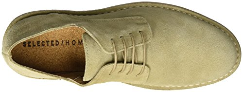 Selected Shhroyce New Light Shoe, Desert Boots Homme Beige (Oyster Gray)